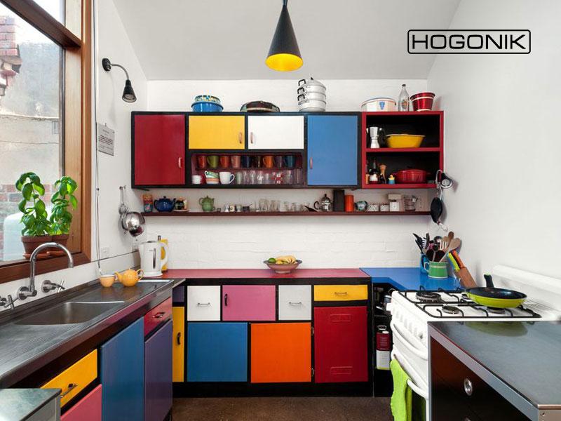 آشپزخانه با طرح موندریان