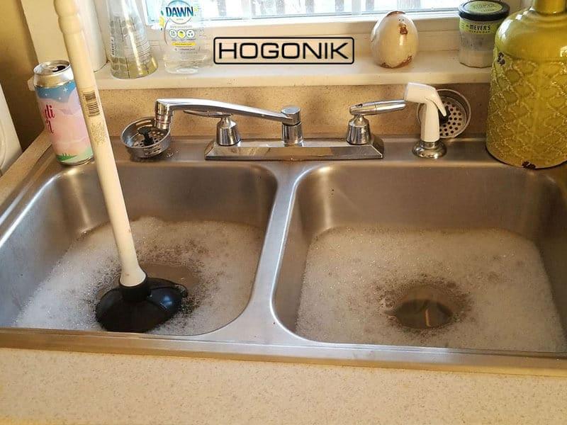 دلایل گرفتگی سینک ظرفشویی