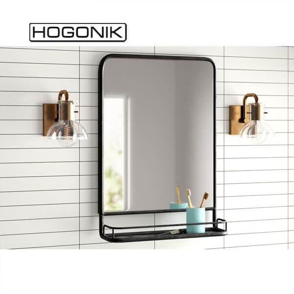 آینه دستشویی شلف دار