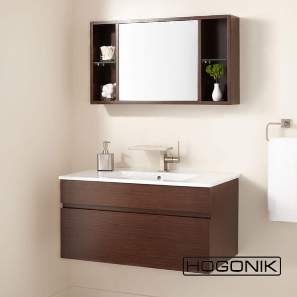 آینه دستشویی به همراه باکس