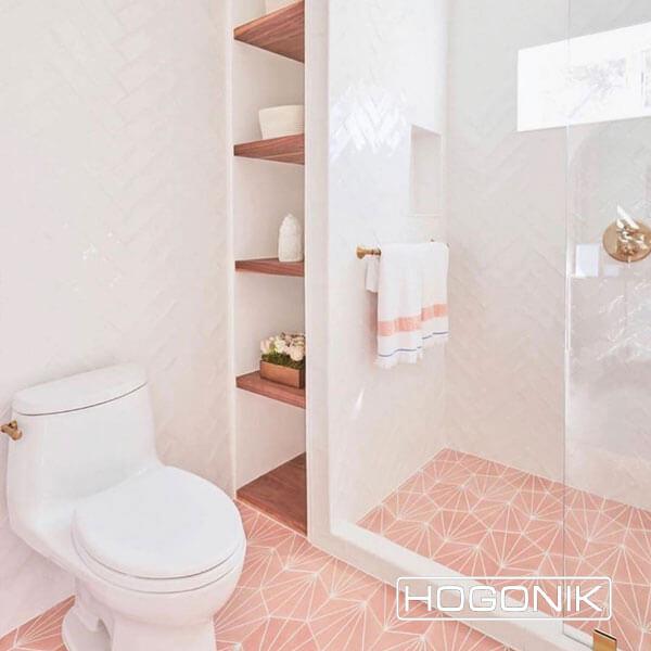کاشی و سرامیک دستشویی کوچک