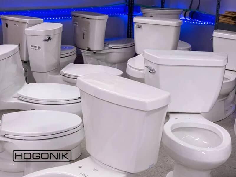 انواع توالت فرنگی