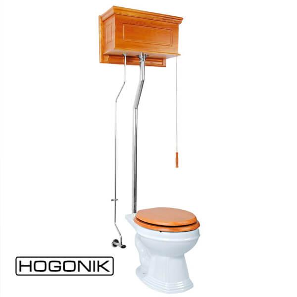 دستشویی فرنگی با فلاش تانک بلندتر