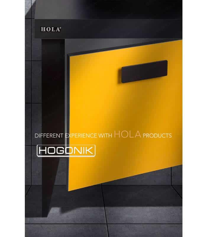 روشویی کابینتی h610 با درب کابینتی